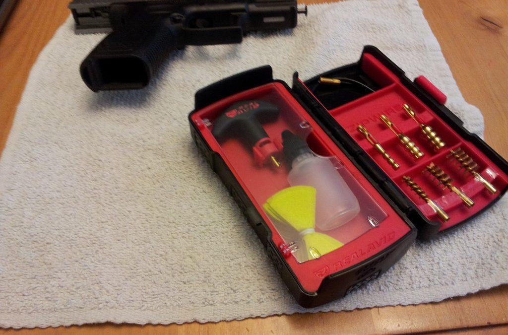 Zip Pistol Cleaning Kit